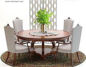3D Christopher Guy Grace Dining Set