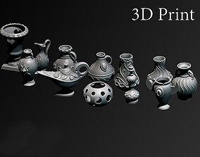 printable Vases 3D printable model