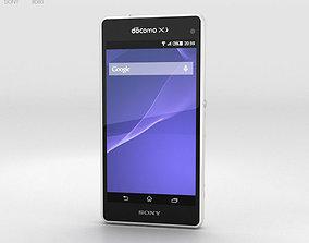 3D model Sony Xperia A2 SO-04F White