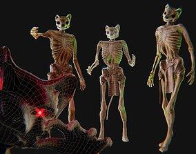 Undead Anthropomorphic Lich 3D model