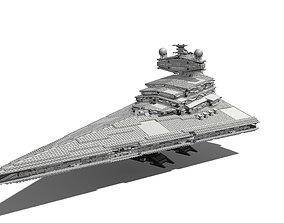 Lego Star Destroyer 10030 3D model