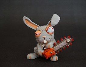 crazy rabbit 3D print model