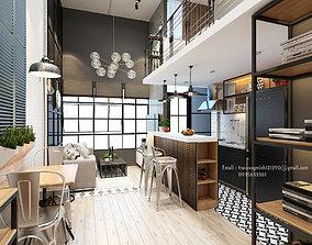 apartments for rent 3D model