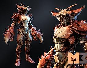 Monster Underwater 05 3D model