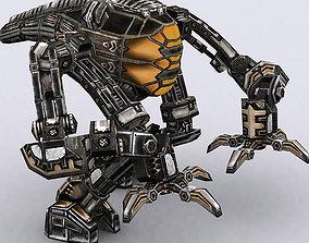 animated realtime 3DRT - Mech robot engineer - 04