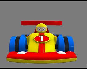 3D Model toy vehicle toy race racing racer racecar 1