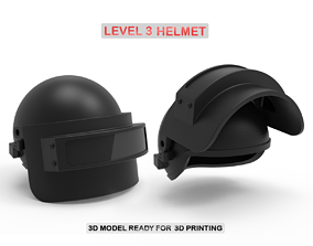 Level 3 Helmet 3D printable model