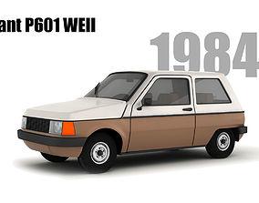Trabant P601 we-II 3D