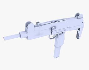 3D model Uzi Submachine Gun