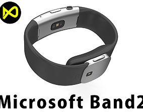 MicroSoft Band 2 3D