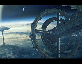 wars 3D model SpaceShip Calypso