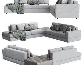 Confort Line ABACO Corner Sofa 3D model