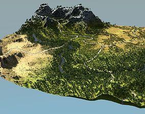 3D model Biomes 02 in Blender