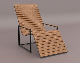 3D asset Garden Sun Chair