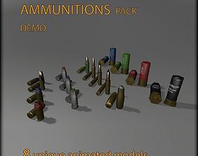 Ammunition pack DEMO 3D model