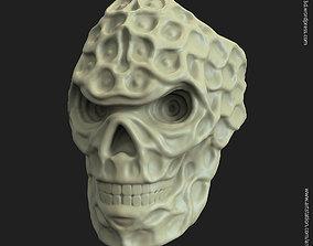 rider biker skull vol15 ring 3D printable model