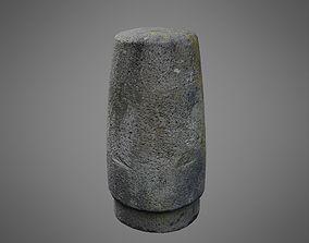 3D asset Concrete Bollard