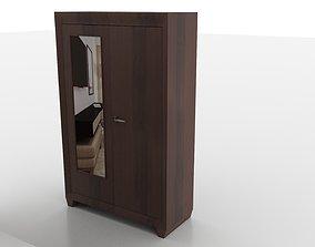 design 3D model game-ready cupboard