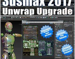3ds max 2017 Unwrap Upgrade vol 63 MP4