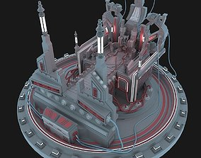 3D Island sci fi