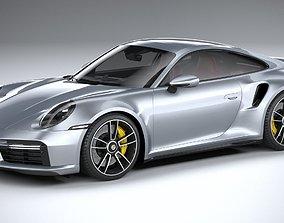 3D asset Porsche 911 Turbo S 2021 lowpoly