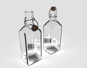 Glass Bottle 3D PBR