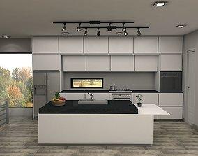 3D Kitchen modren