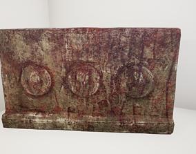 3D asset Ancient Wall