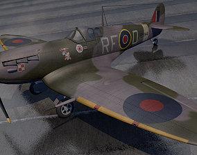 3D Supermarine Spitfire Mk-5b