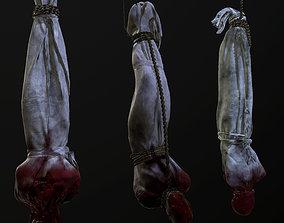 Cloth corpse 3D model