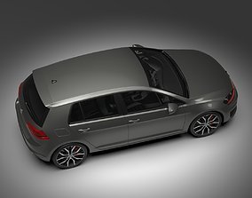 3D model Volkswagen Golf 2014
