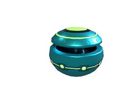 Green mines 3D asset