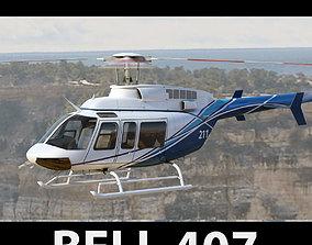 Bell 407 3D