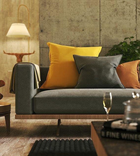 Sofa interior design