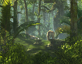 3D Tiger Forest