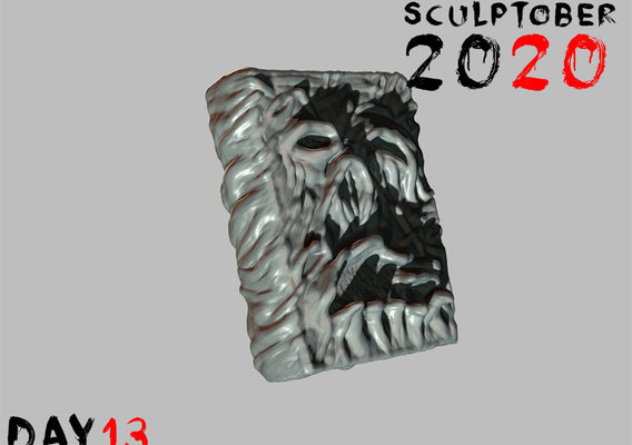 Sculptober Day 13 Lore