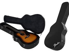 Guitar Case BLENDER 3D Model Cycles