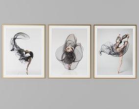 Dance Picture Frames 3D
