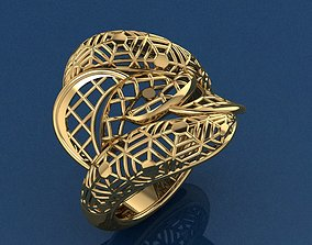 Ring 21 brillant 3D printable model