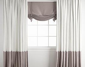 3D Curtain 168