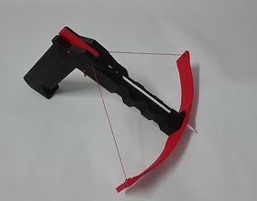 Functional 3D Printable Crossbow Gun Toy