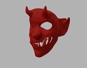 3D printable model Yokai Oni Japanese Devil Styled Mask