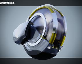 3D asset Simplistic Flying Vehicle - nr11