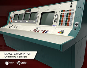 3D asset Space Exploration Control Center - Apollo Flight