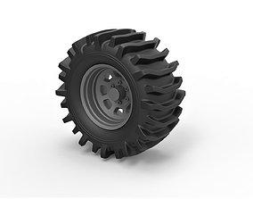 Diecast Offroad wheel 32 3D print model