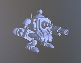 MetalSlug5SlugGunner3DTemplate slug