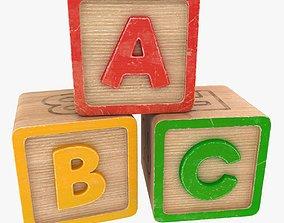 3D model ABC Blocks