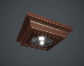 3D model low-poly Ceiling Light