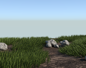 3D GRASS FIELD