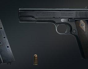 3D model realtime Colt 1911 sniper